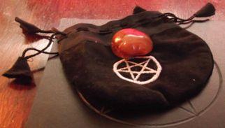Pentagram spell pouch
