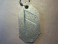 ANSUR Rune Leather Pendant