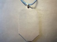 Back of rune leather pendants<