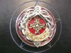 Celtic Red Cross Buckle