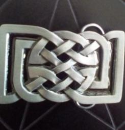Celtic Knot (Cut Out) Buckle