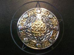 Celtic Shield Buckle