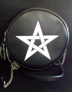 Pentagram Leather Bag